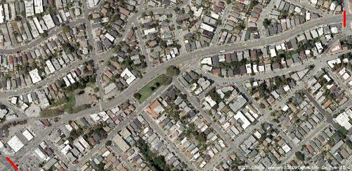 Park Blvd on Google Maps