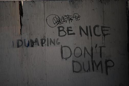 Be Nice. Don't Dump.